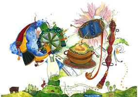 """câștigătorul concursului Doodle 4 Google - Iasmina Răceanu, """"România mea"""""""