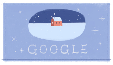 Sărbători fericite din partea Google!