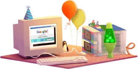 Google aniversează 17 ani