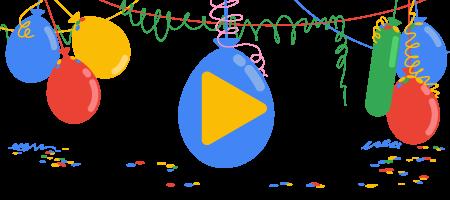 Aniversarea de 18 ani a Google