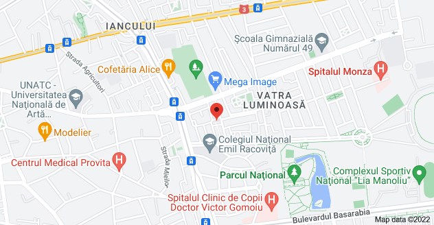 Map of Strada Vitejiei 3, București