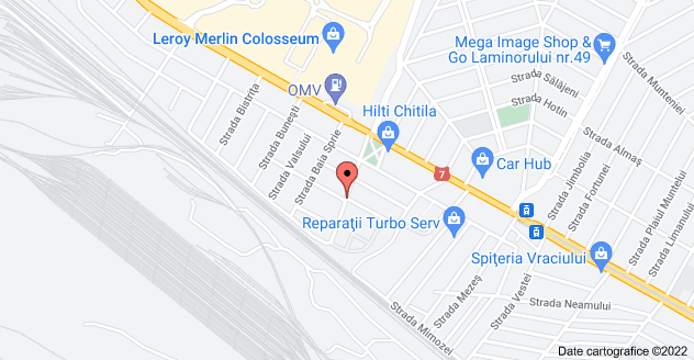 Harta pentru Strada Maica Teofana 11, București