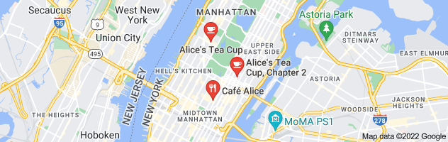Map of new york alice's restaurant