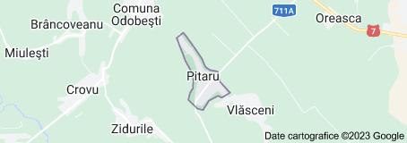 Harta pentru Pitaru România